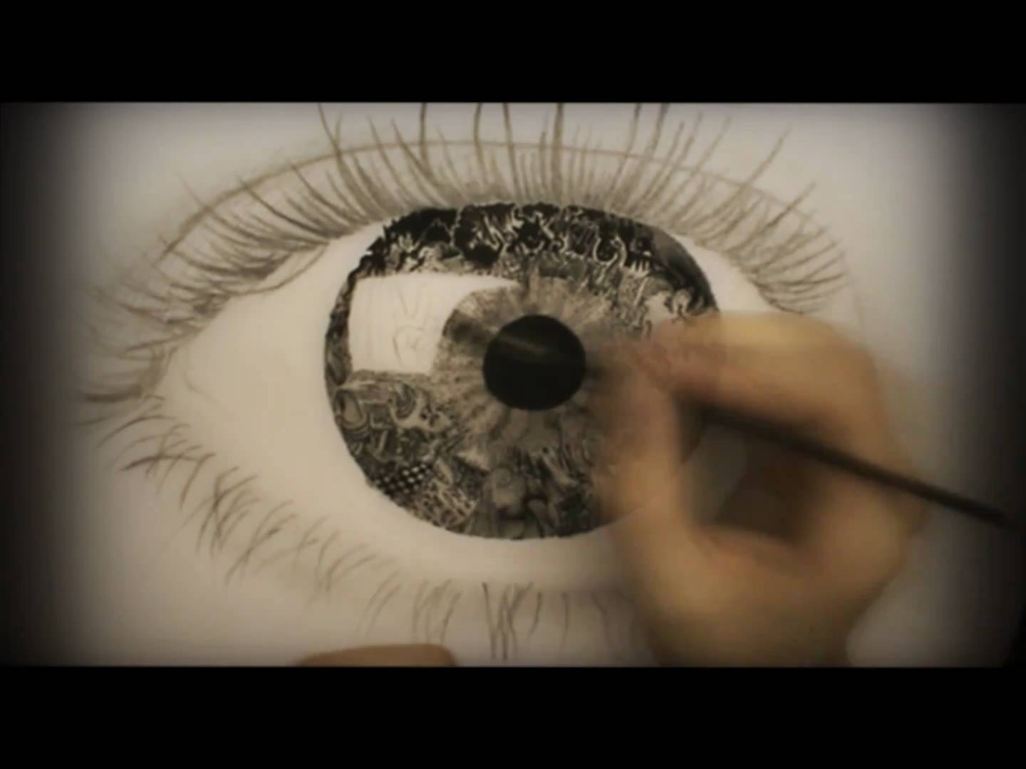 1440x1080 Surrealistic Speed Drawing Vision