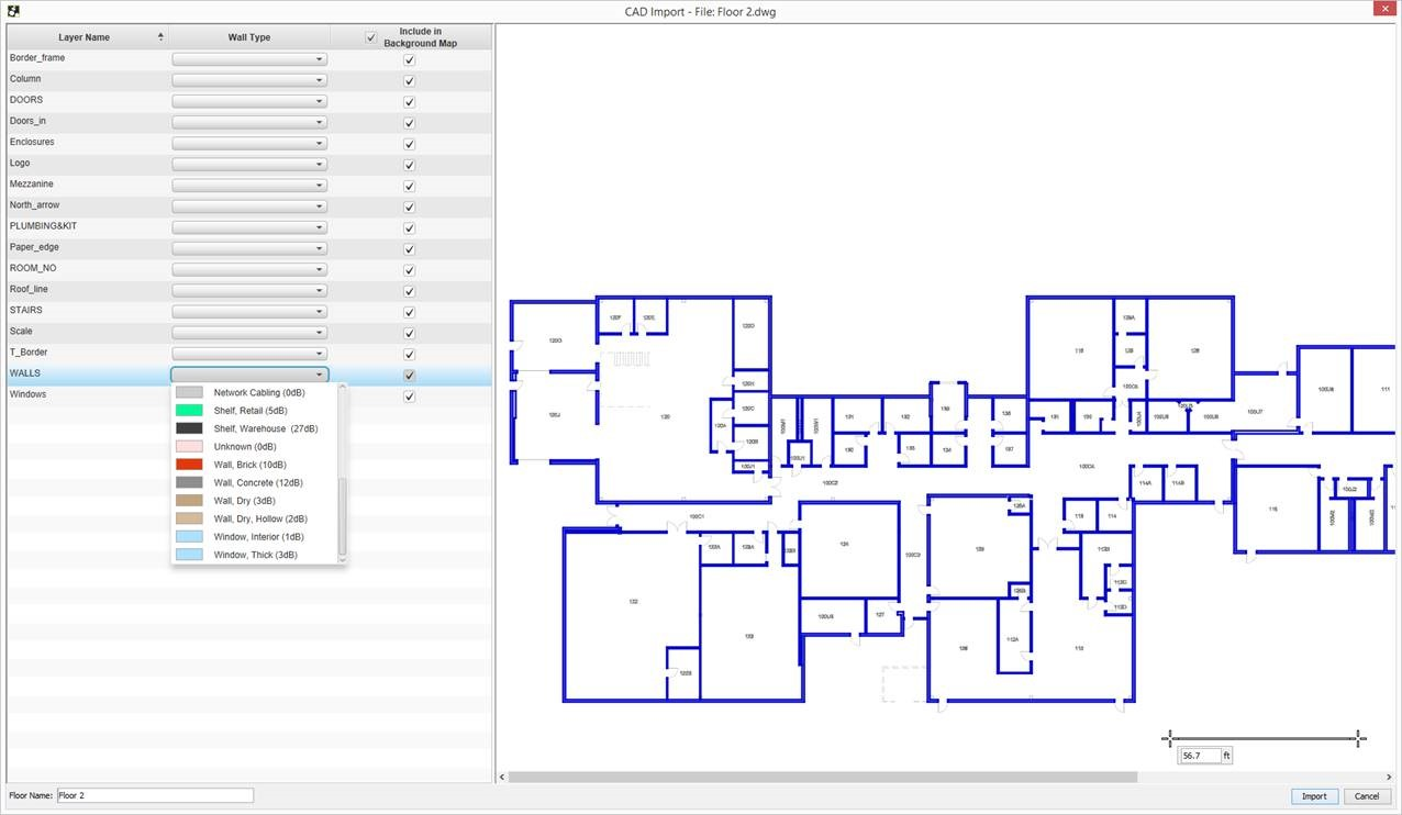 1276x742 Added Throughput Site Survey. Eliminated The Need For Wall Drawing