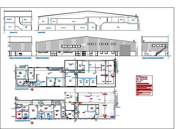 638x451 Building Survey Drawing 1
