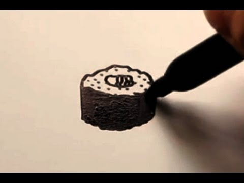 480x360 How To Draw A Cartoon Sushi Roll