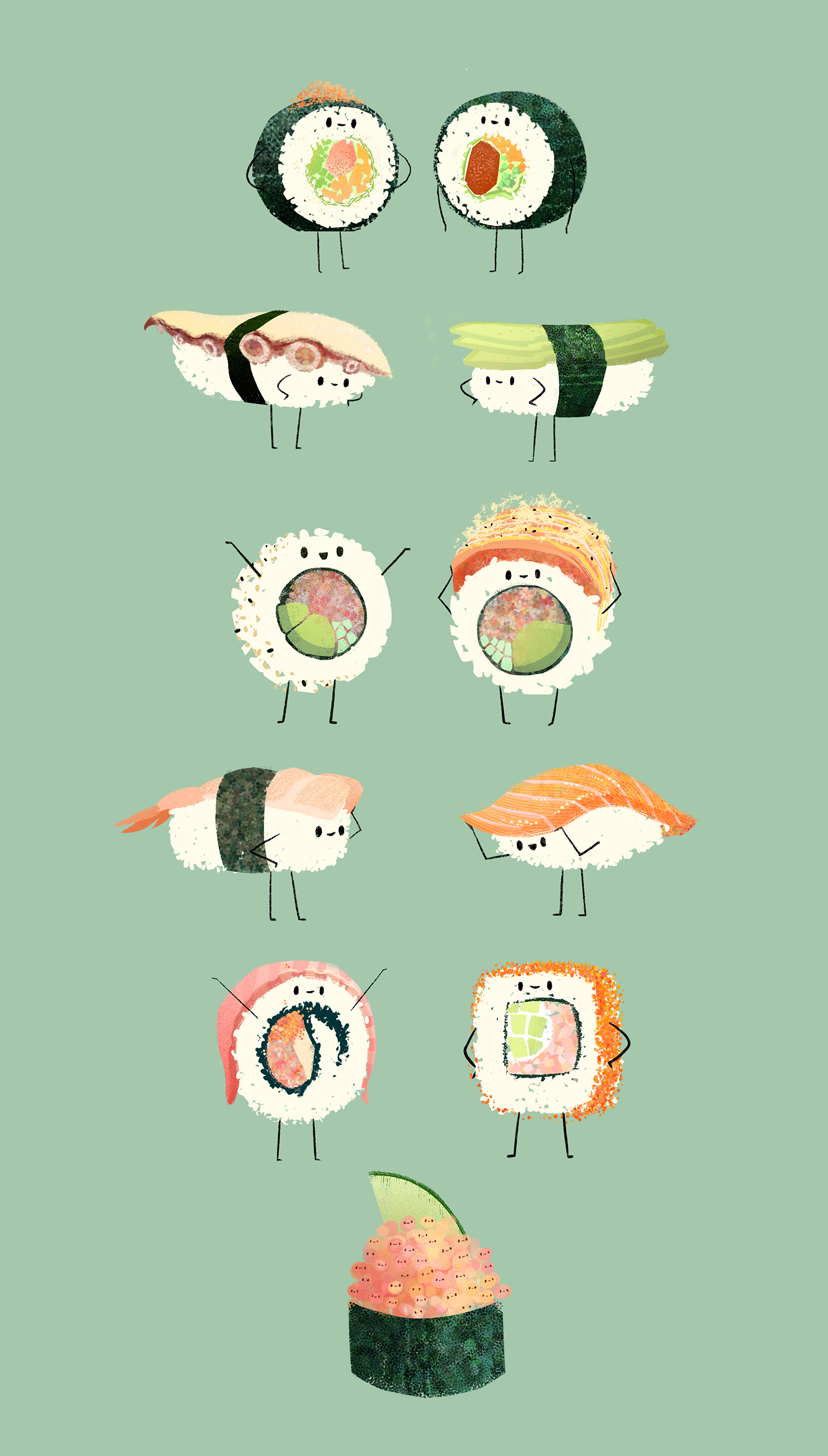 1400x2461 I'Ve Acquired A Taste For Sushi In The Past Few Months, And I Made