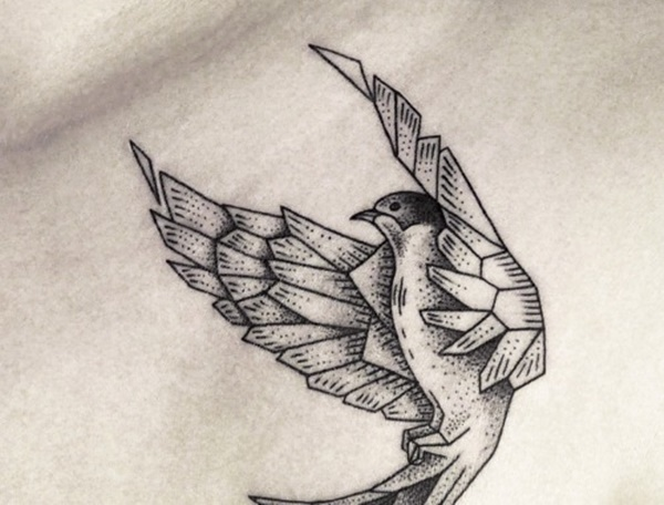 600x456 97 Cute Swallow Tattoo Designs To Try For Your Next Tattoo