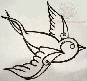 Swallow tattoo drawing at getdrawings free for personal use 300x280 traditional tattoo designs free tattoo designs freetattoo maxwellsz