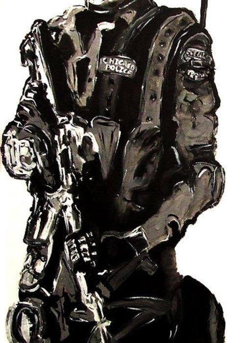 500x700 Full Length Figure Portrait Of Swat Team Leader Alpha Chicago
