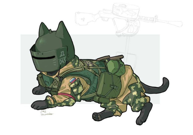779x544 What An All Cat Swat Team Would Look Like (Gallery)