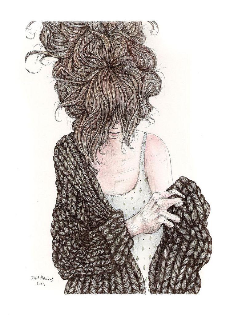 773x1024 Sweater Illustrators, Fashion Illustrations And Draw