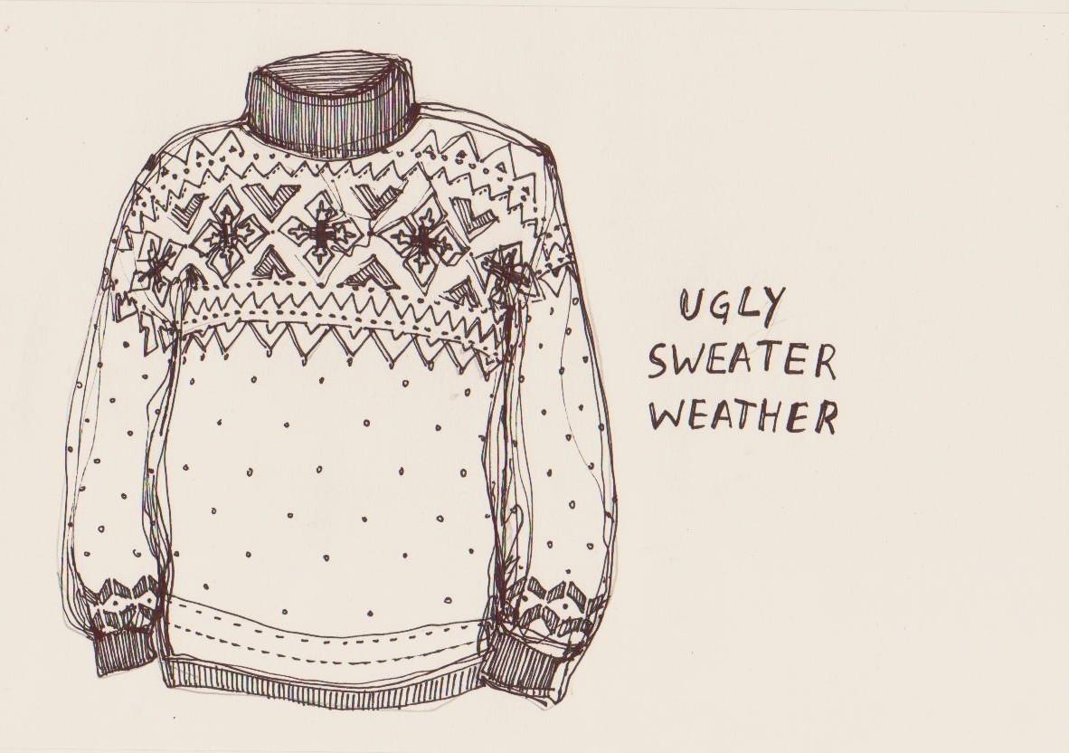 Sweater Drawing At GetDrawings