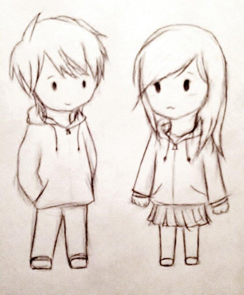 814x982 Cute Couple Cartoon Drawing Easy To Draw The Sweet Couple Cartoon