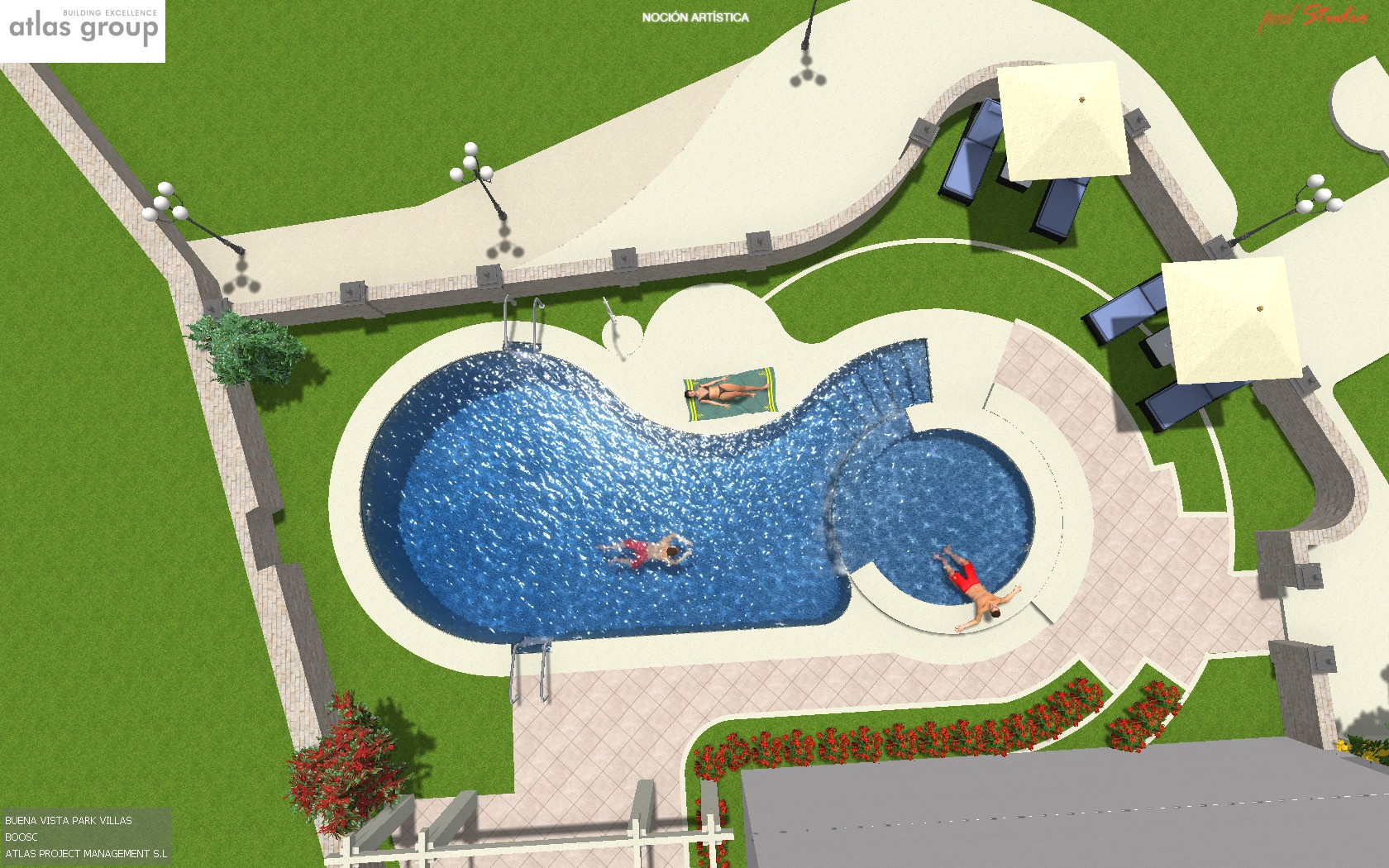 Swimming pool drawing at free for for Pool design drawings