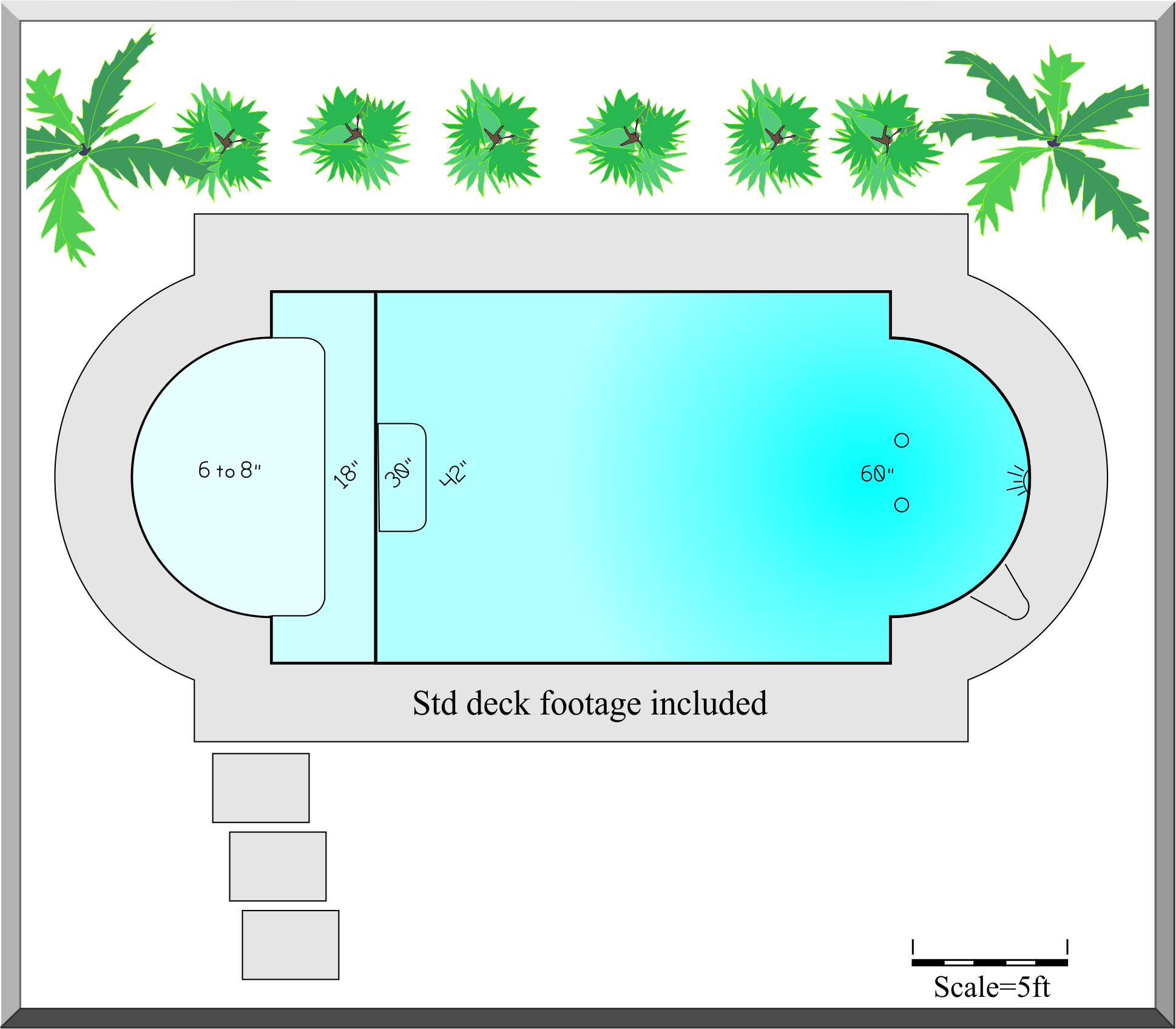 Swimming pool drawing at free for for Swimming pool plan layout