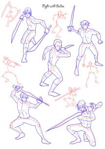 214x302 1. In This Tutorial You Can Find Example Poses For The Typical