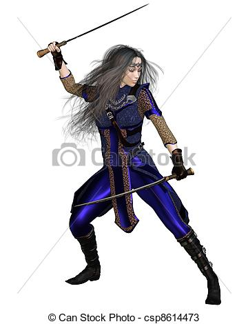 360x470 Fantasy Warrior Princess Fighting. Fantasy Warrior Princess