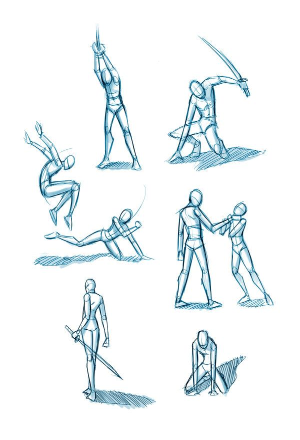 Sword Fighting Poses For Drawing at GetDrawings com | Free