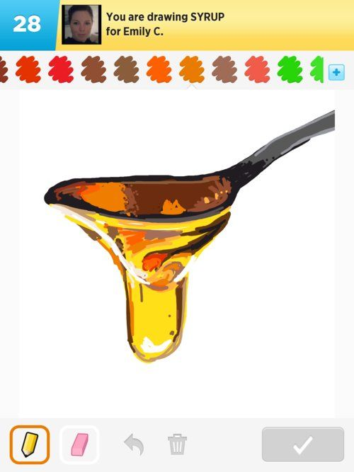 500x667 Syrup Draw Something That Looks Sticky Art Syrup