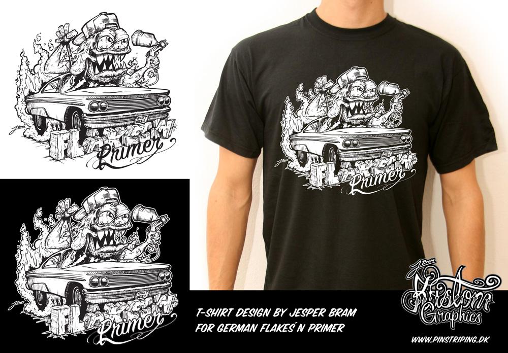 1000x696 Latest T Shirt Design From Jesper Bram