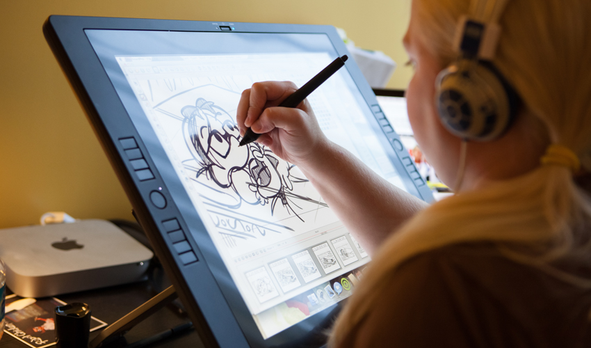 850x500 5 Best Drawing Tablets For Artists In 2018
