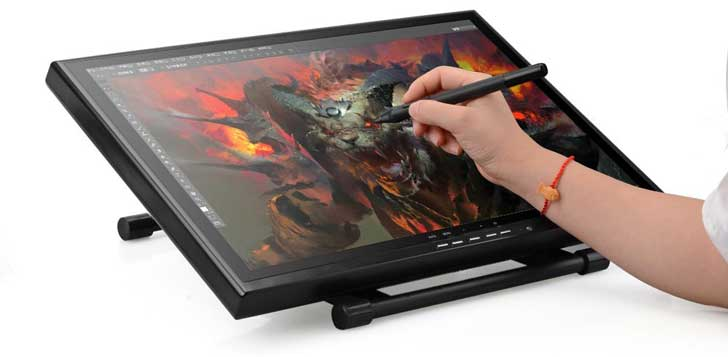 728x357 Digital Drawing Tablet Review