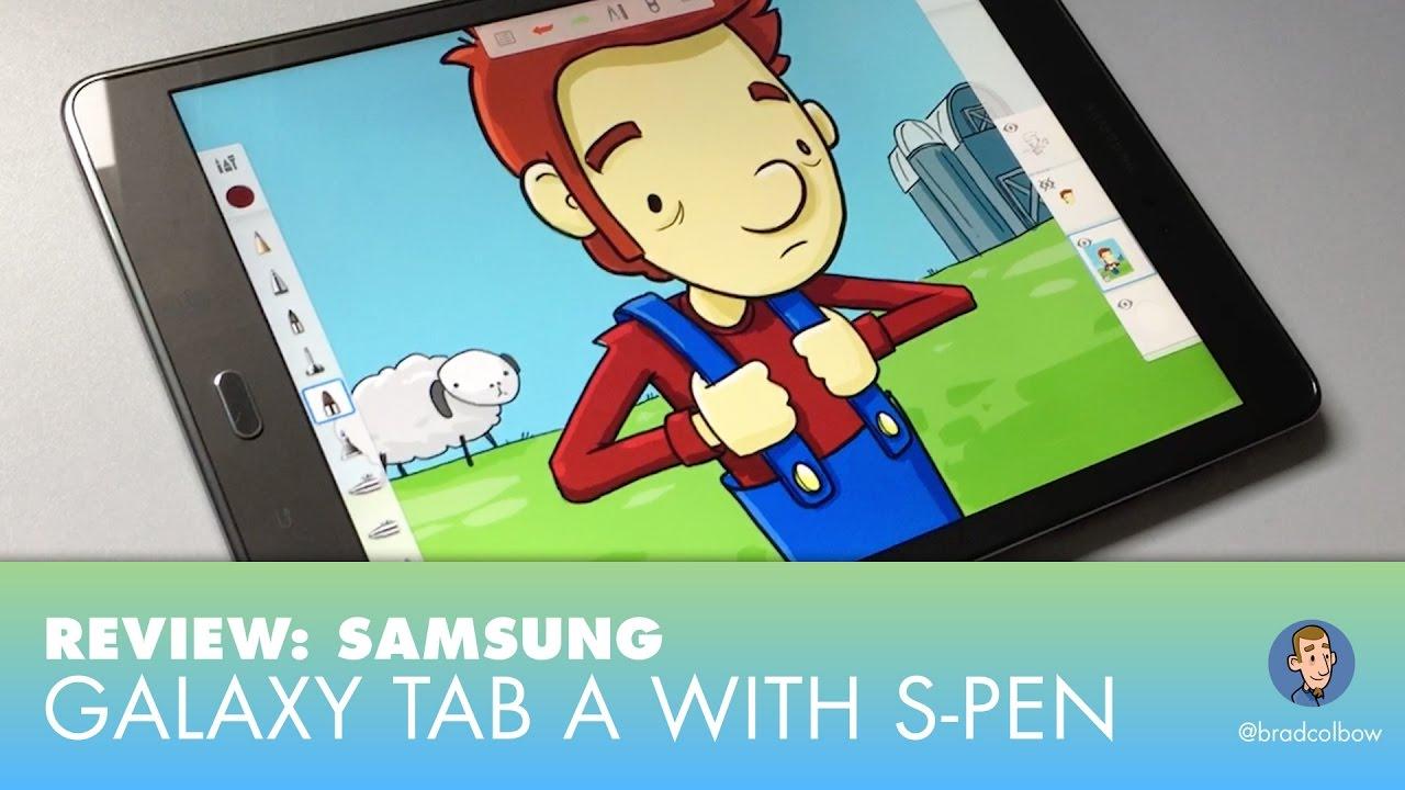 1280x720 Drawing On The Samsung Galaxy Tab