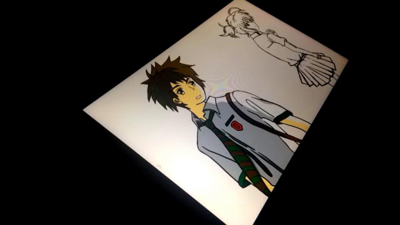 1280x720 Speed Drawing Kimi No Na Wa (Your Name)