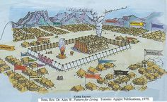 236x145 Tabernacle In The Midst Of The Camp Of Israel Israel And Early