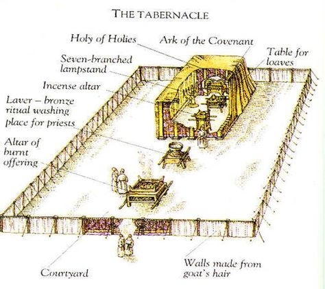 Tabernacle Drawing At Getdrawings Free For Personal Use