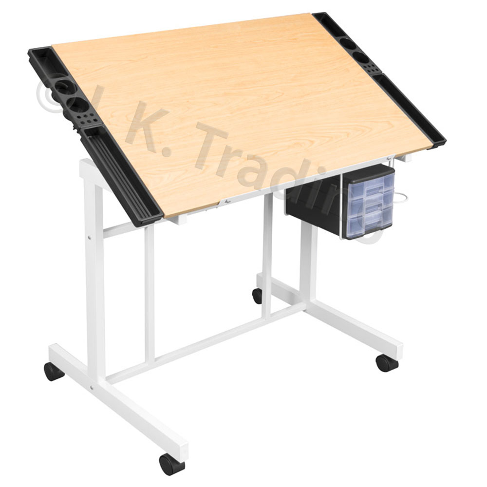 1000x1000 Wood Drafting And Drawing Table (Classic)