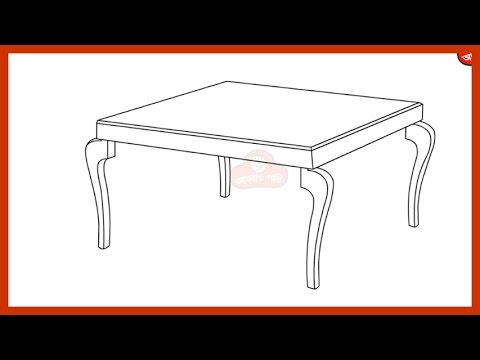 480x360 How To Draw A Table Step By Step