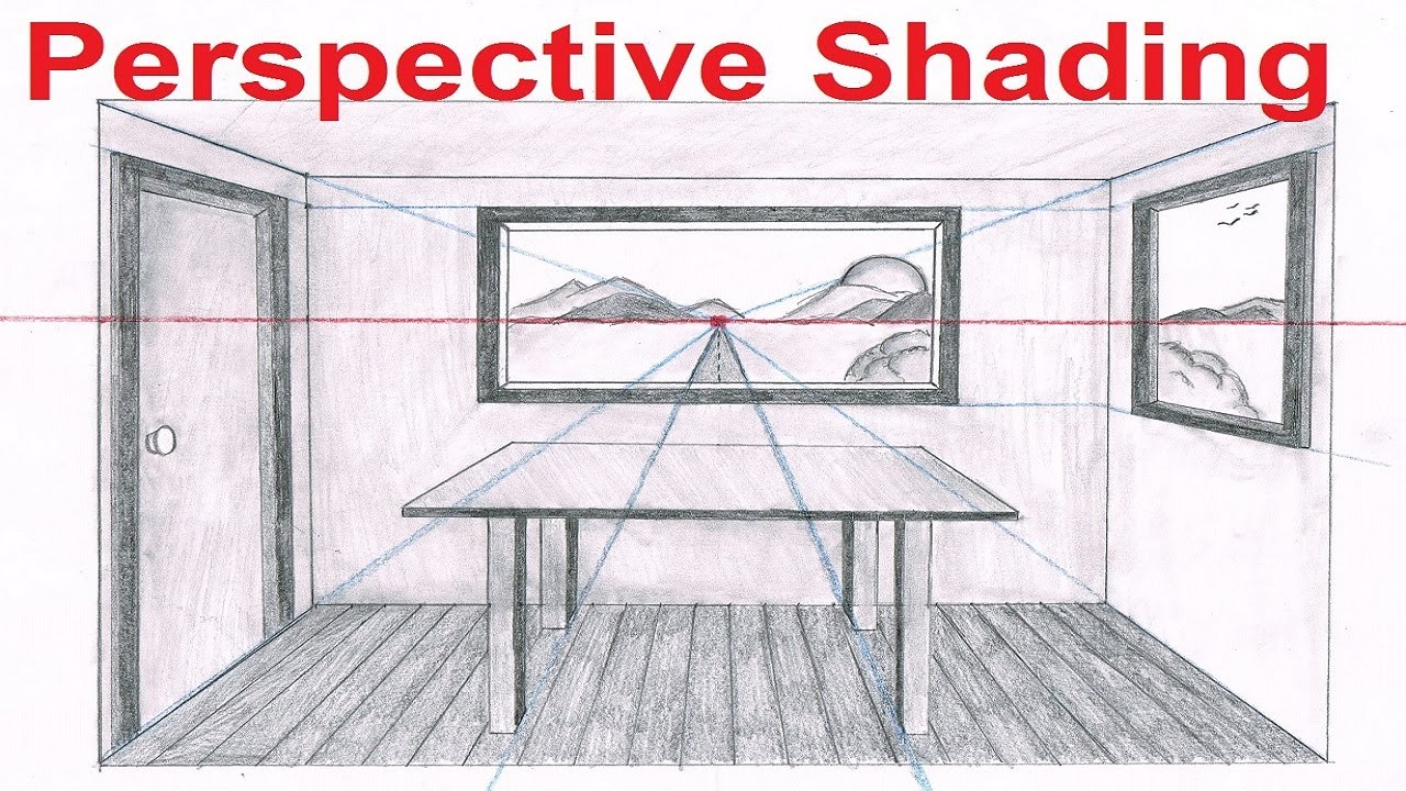1280x720 Linear Perspective Drawing Lesson 66