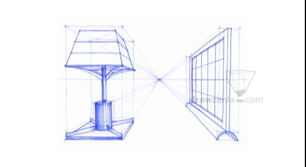 1052x576 Perspective Drawing 024 Draw Objects