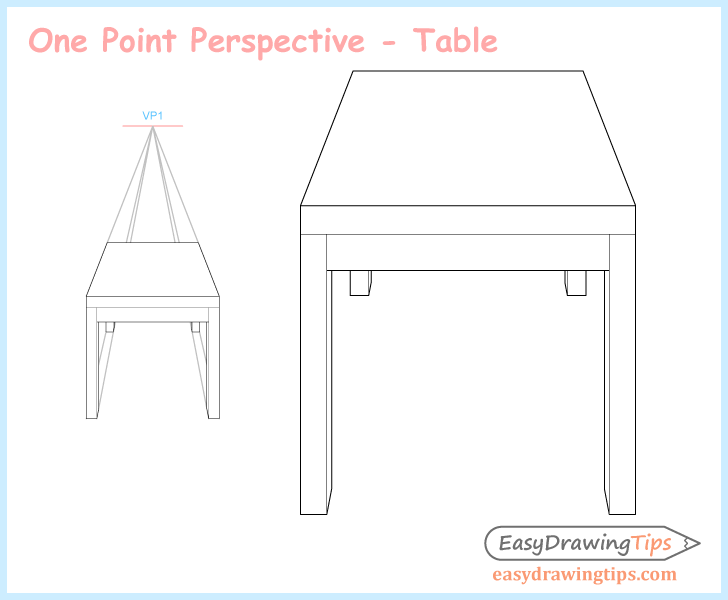 728x600 Perspective Drawing Tutorial For Beginners Easy Drawing Tips