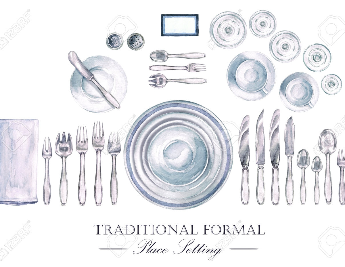 1200x928 Formal Place Setting Template In Indoor Formal Place Formal Table