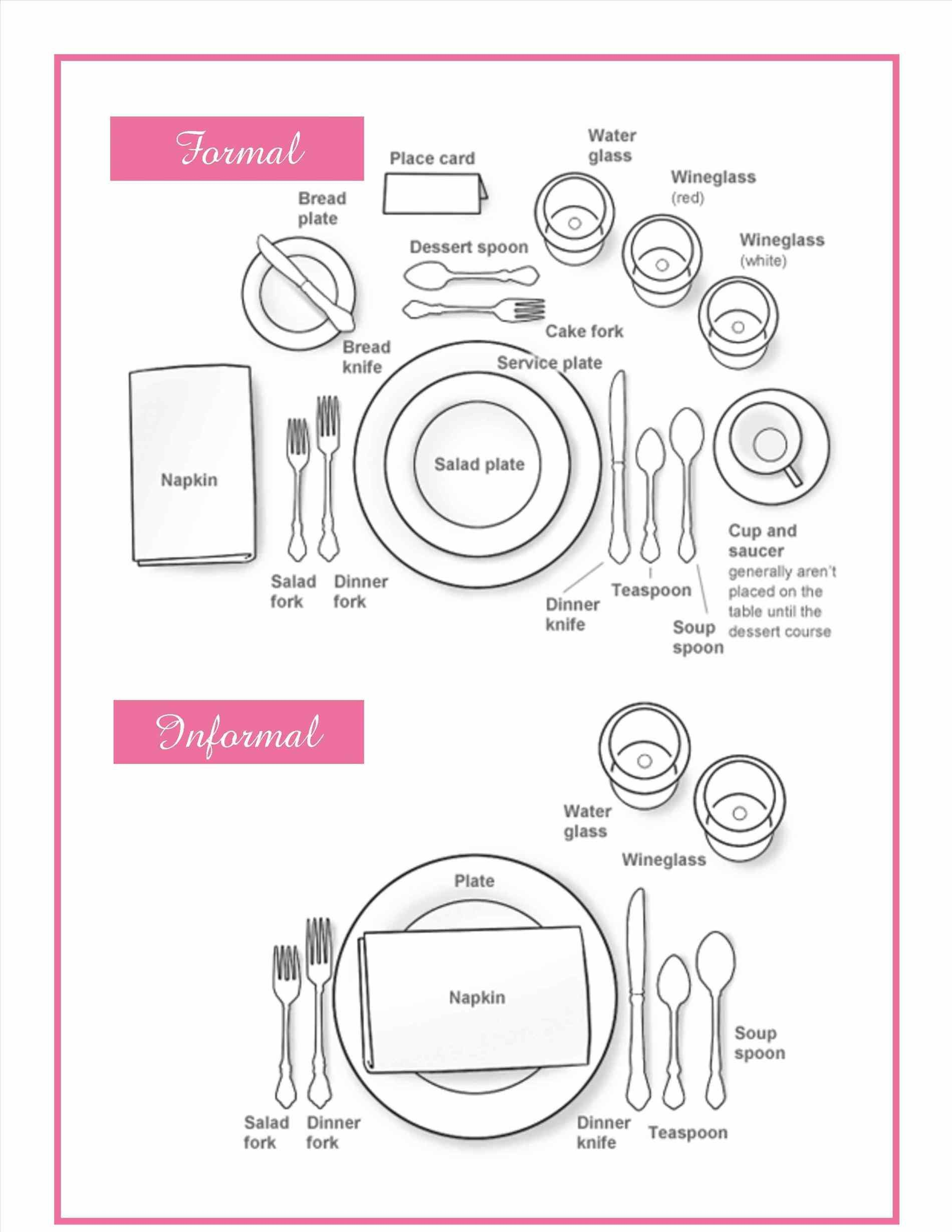 1900x2458 How To Set Your Formal And Informal Table Dining Table Proper