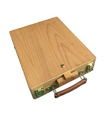 373x400 Dalby Wooden Artist's Painting Amp Drawing Table Top Box Easel
