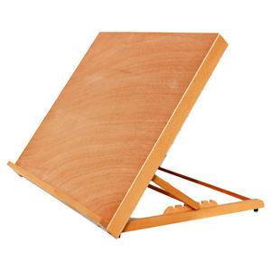 300x300 Portable Folding Table Top Desk Easel Adjust Angle Drawing Board