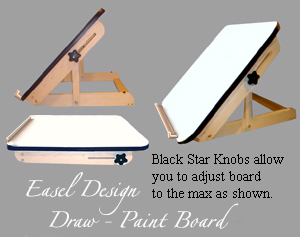 300x237 Table Top Drawpaint Easel Cartoon Supplies