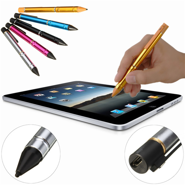 600x600 2.3mm Active Capacitance Stylus Pen Drawing Pencil For Ipad Tablet