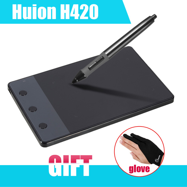 640x640 New Huion H420 420 Graphics Drawing Tablet 4 X 2.23 Usb Digital