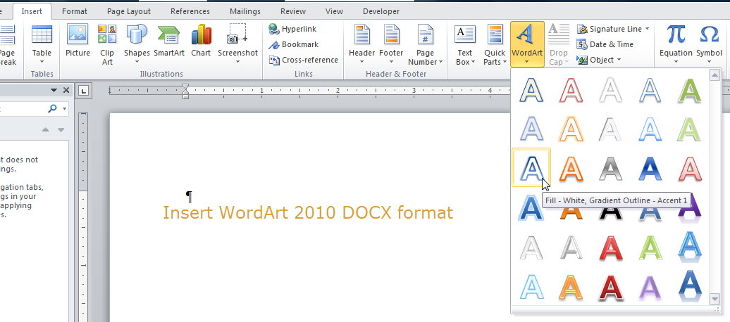 1036x458 The Ribbons Of Microsoft Word 2007 2016