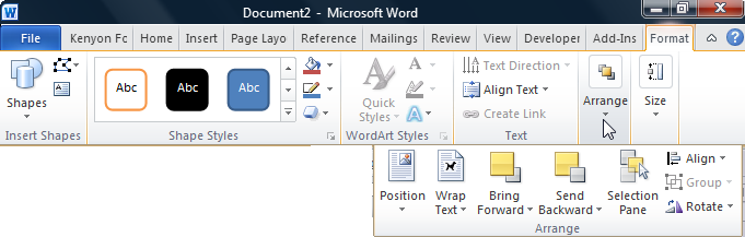 681x217 The Ribbons Of Microsoft Word 2007 2016