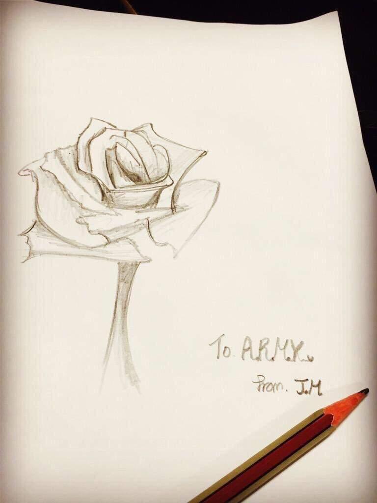768x1024 Jimin's Drawing Talent Park Jimin Amino