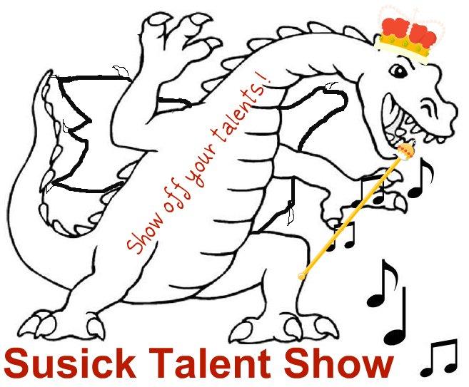 657x543 Talent Show Poster