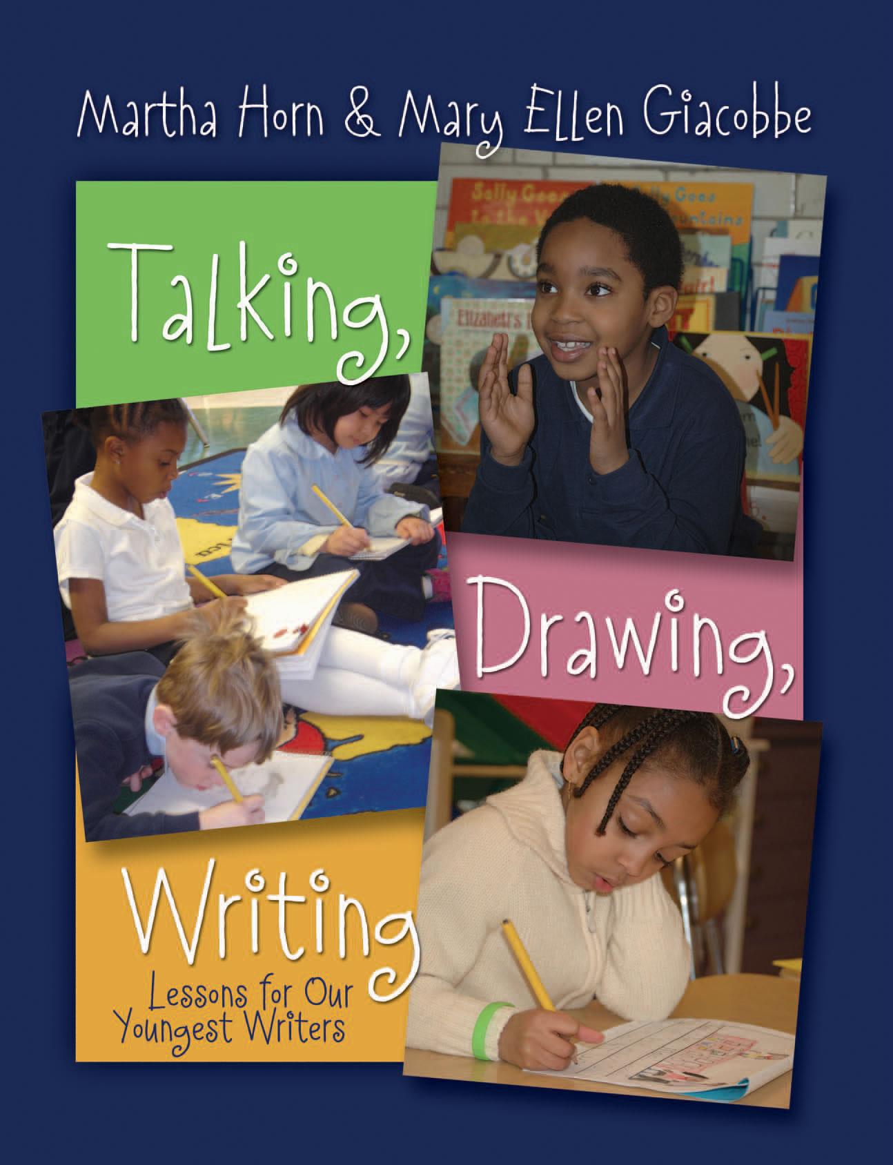 1294x1688 Talking, Drawing, Writing Stenhouse Publishers