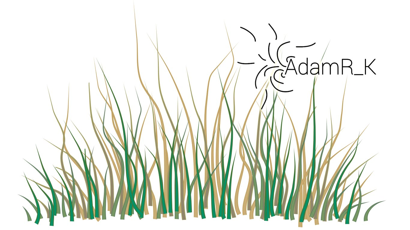 1366x768 How To Draw Vector Grass Using Brush Tool
