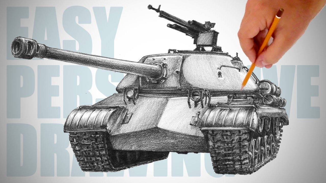 1280x720 How To Draw A Tank (Is 3)