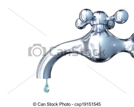 450x357 Very High Resolution Rendering Of A Dropping Tap Drawing