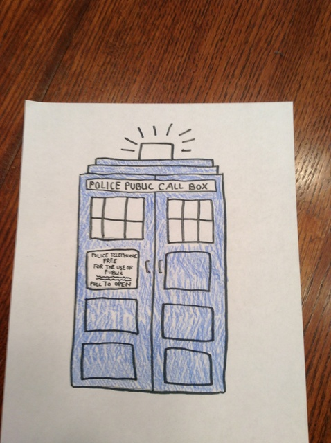 478x640 How To Draw The Tardis From Doctor Who