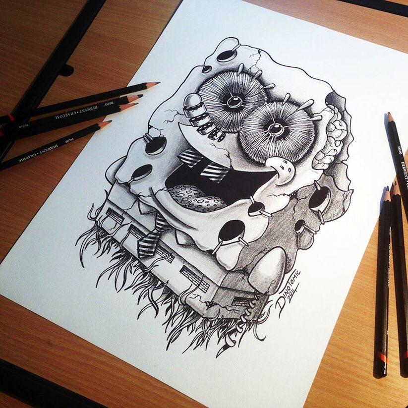 823x823 Drawings