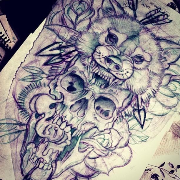 612x612 Tumblr Tattoo