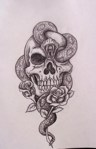 329x512 Download Free Skull Tattoo Design Tattoo Designs And Templates