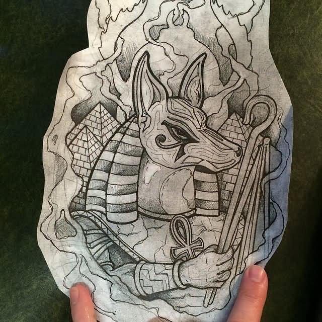 640x640 Best Anubis Tattoo Designs